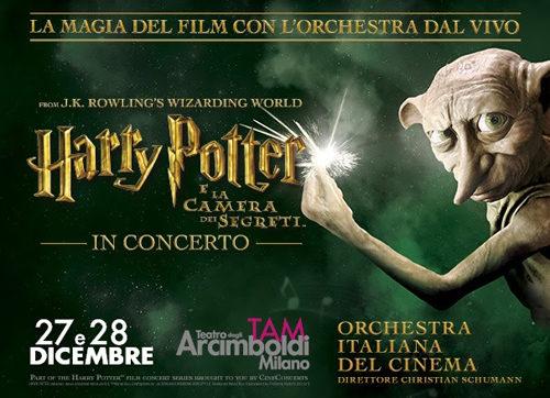 Harry Potter e la camera dei segreti™ in concerto al Teatro degli Arcimboldi di Milano