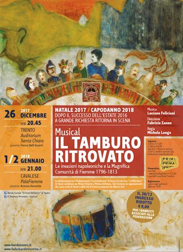 In scena a Trento il musical Il tamburo ritrovato