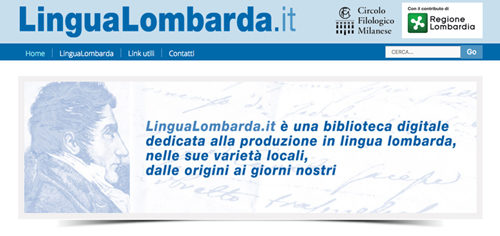 È nato il sito LinguaLombarda.it