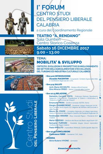 I Forum regionali organizzati dal C.S.P.L. Calabria sul tema della Mobilità & Sviluppo