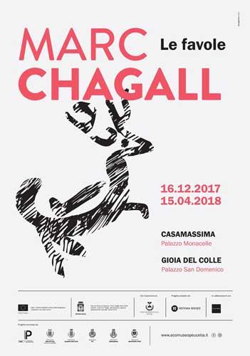 Chagall in Puglia con le sue Favole