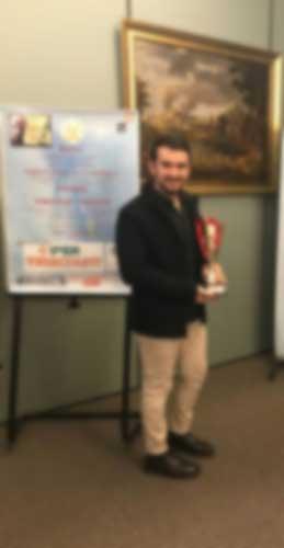 Marco Iannitello vince il Premio Vincenzo Crocitti, primo lustro, come attore in carriera