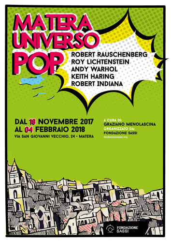 Da Andy Warhol a Keith Haring, i maestri della Pop Art in mostra a Matera