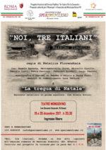 """Noi, tre Italiani al Teatro Mongiovino di Roma il 19 e 20 dicembre e il laboratorio musicale per famiglie """"Ohana"""""""