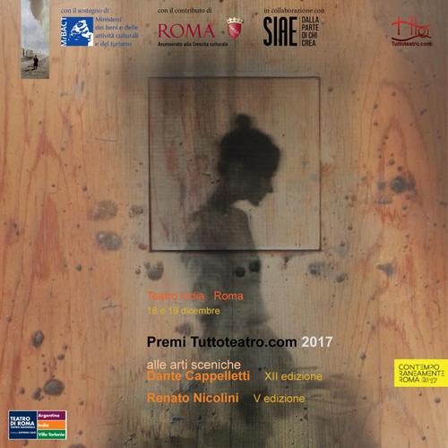Premio Tuttoteatro.com, la finale al Teatro India.