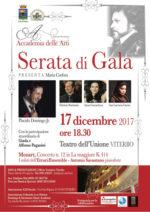 """Serata di Gala con Placido Domingo Jr per la presentazione della Accademia delle Arti """"Antonio Savastano"""""""