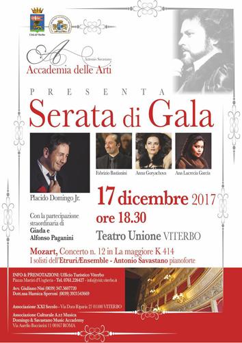 Serata di gala al Teatro dell'Unione di Viterbo