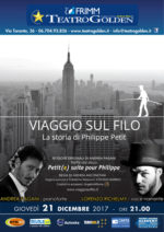 Viaggio sul filo, la storia di Philippe Petit al Teatro Golden di Roma