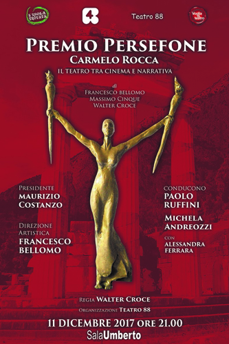 """XVI Edizione """"Premio Persefone Carmelo Rocca"""""""