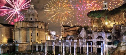 Capodanno, è FESTA DI ROMA per 24 ore
