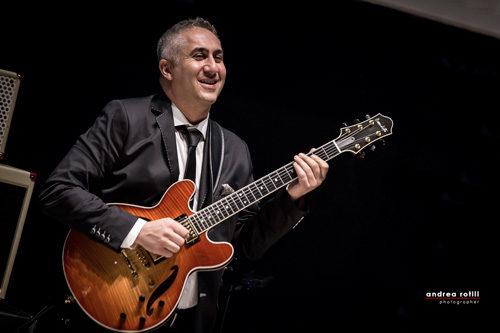 Luca di Luzio e il suo Luca di Luzio Blue(s) Room Trio, protagonista della rassegna Sabato in concerto Jazz di Loreto Aprutino