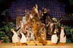 Madagascar, il musical, arriva in nei teatri italiani