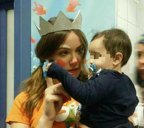 Miss Italia clown di corsia al Policlinico Umberto I