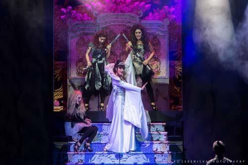 La Regina dei ghiacci, lo spettacolo al teatro Brancaccio di Roma dal 20 dicembre al  7 gennaio 2018