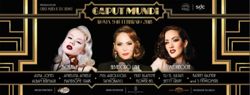 Caput Mundi International Burlesque Award