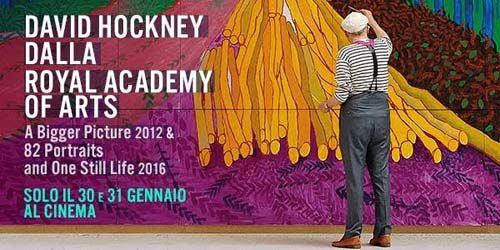 David Hockney dalla Royal Academy of Arts