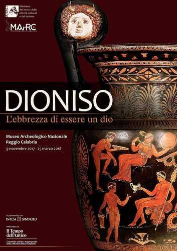 Dioniso. L'ebbrezza di essere un Dio, la mostra al Museo Archeologico Nazionale di Reggio di Calabria