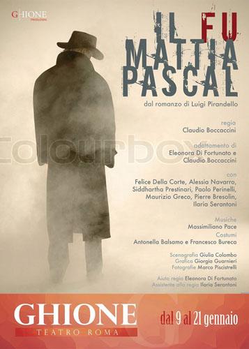 Il fu Mattia Pascal, lo spettacolo al teatro Ghione di Roma