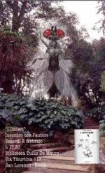 Il romanzo 'I ditteri' di Marco Visentin approda alla biblioteca Tullio De Mauro di Roma