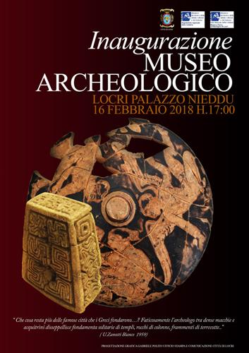 Museo Archeologico Nazionale di Palazzo Nieddu del Rio, l'inaugurazione