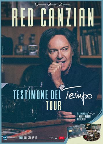 Red Canzian: dal 4 maggio in tour nei teatri con Testimone del tempo, il nuovo album di inediti