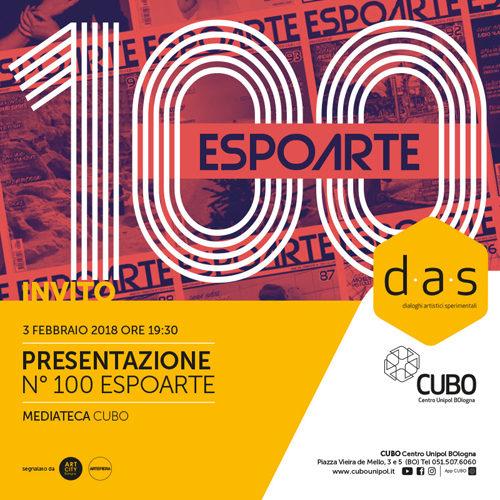 TALK for ESPOARTE 100 a CUBO Centro Unipol BOlogna