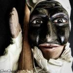 Pulcinella stende a Trento «La tovaglia di Carnevale»