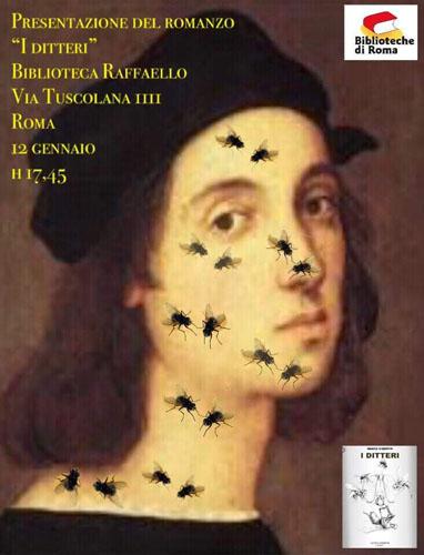 """Il romanzo """"I ditteri"""" di Marco Visentin va a Roma Anagnina. L'incontro con l'autore alla Biblioteca Raffello venerdì 12 gennaio alle 17,45"""