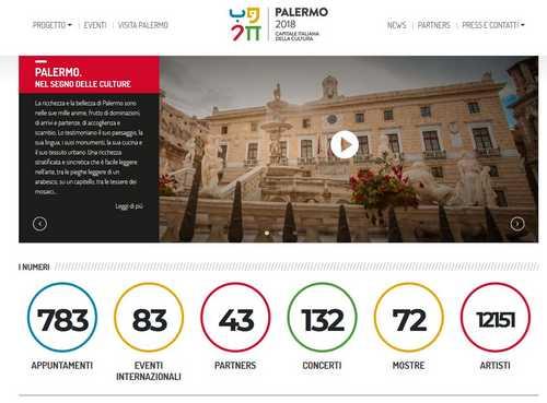 Al via l'anno di Palermo Capitale della Cultura 2018