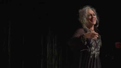 Elisabetta Pozzi in Elena all'Off Off Theatre di Roma