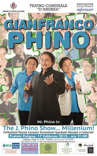La comicità di Phino al Teatro d'Andrea di Pratola Peligna