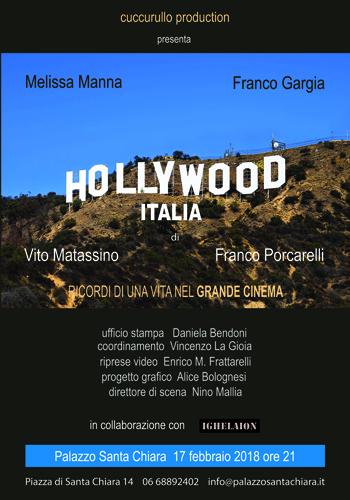 Hollywood Italia a Palazzo Santa Chiara di Roma