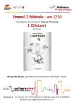 I ditteri di Marco Visentin approdano a San Lorenzo a Roma
