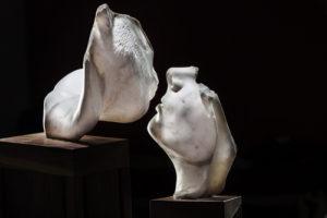 """""""Di carne e di marmo il desiderio"""" di Ilaria Gasparroni alla CUBO Gallery di Parma"""