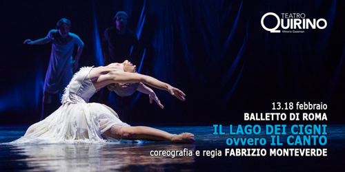 Il lago dei cigni ovvero il canto al Teatro Quirino di Roma