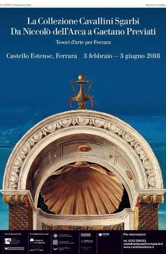 La collezione Cavallini Sgarbi Da Niccolò dell'Arca a Gaetano Previati - Tesori d'arte per Ferrara