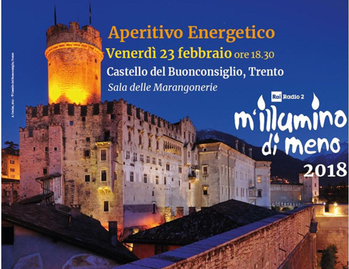 M'illumino di meno 2018: oltre 50 le iniziative in Trentino