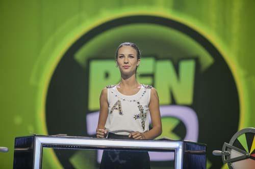 Michelle Carpente nelle nuove puntate del Game Show Ben10 La Sfida