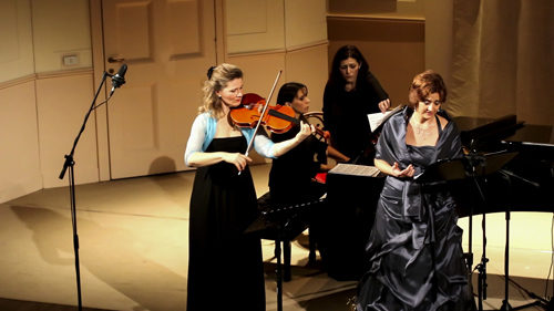Nascita del canto femminile europeo al Teatro Sala Umberto