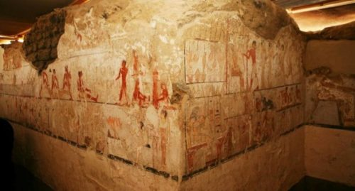 Scoperta la tomba della sacerdotessa Hetpet