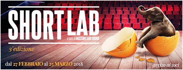 Al via Short Lab la rassegna a cura di Massimiliano Bruno! Al Teatro Cometa Off di Roma
