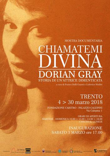 Trento rende omaggio a Dorian Gray