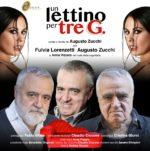Un lettino per tre G. con Augusto Zucchi e Fulvia Lorenzetti al Teatro Golden di Roma