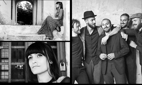 Songs from a Journey con Gloria Trapani, Mattia Caroli & i Fiori del Male all'Auditorium Parco della Musica di Roma