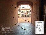 Marco Visentin, autore del romanzo 'I ditteri' alla biblioteca Goffredo Mameli all'isola pedonale del Pigneto a Roma