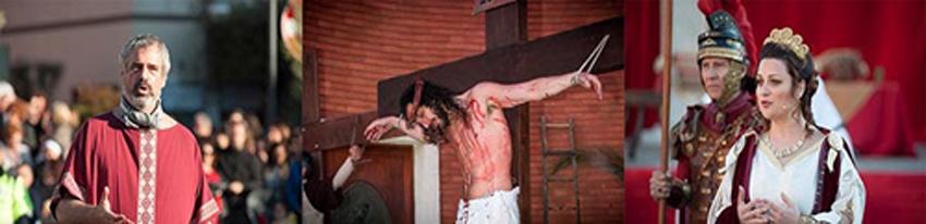 Ad Aprilia la passione vivente di Gesù Cristo