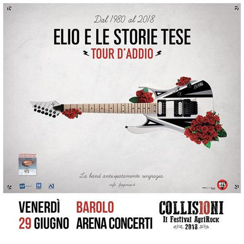 Elio e Le Storie Tese in concerto al Collisioni Festival a Barolo