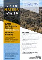 Avvio coordinamento interregionale Basilicata – Calabria