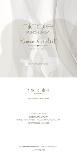 Romeo & Juliet Edition al Nicole Fashion Show