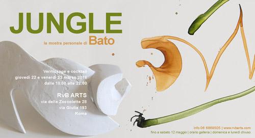 Jungle, la mostra personale di Bato
